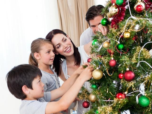 Традиции моей семьи в новый год